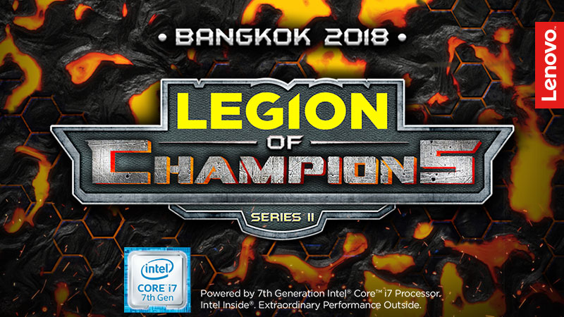 Lenovo & Intel LEGION OF CHAMPIONS III