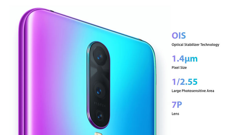 OPPO R17 Pro camera features