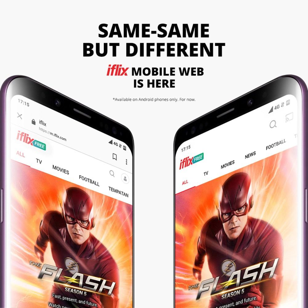 iflix Mobile Web FREE videos