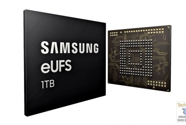 1TB Samsung eUFS Chip For Smartphone Details Revealed!