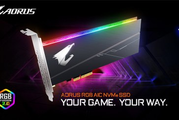 The GIGABYTE AORUS RGB SSD Series Revealed!