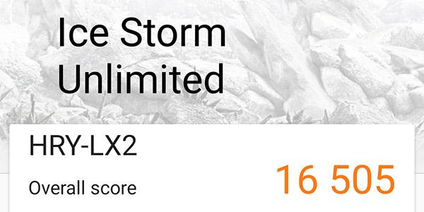 HONOR 10 Lite 3DMark score