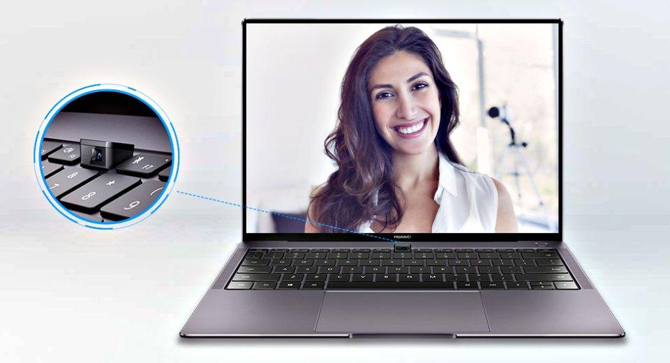 HUAWEI MateBook X Pro receseed camera