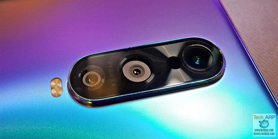 OPPO R17 Pro rear cameras