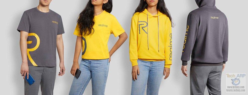Realme tshirts and hoodies