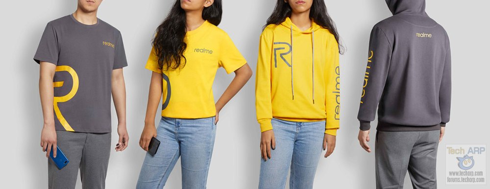 Realme tshirts and hoodies