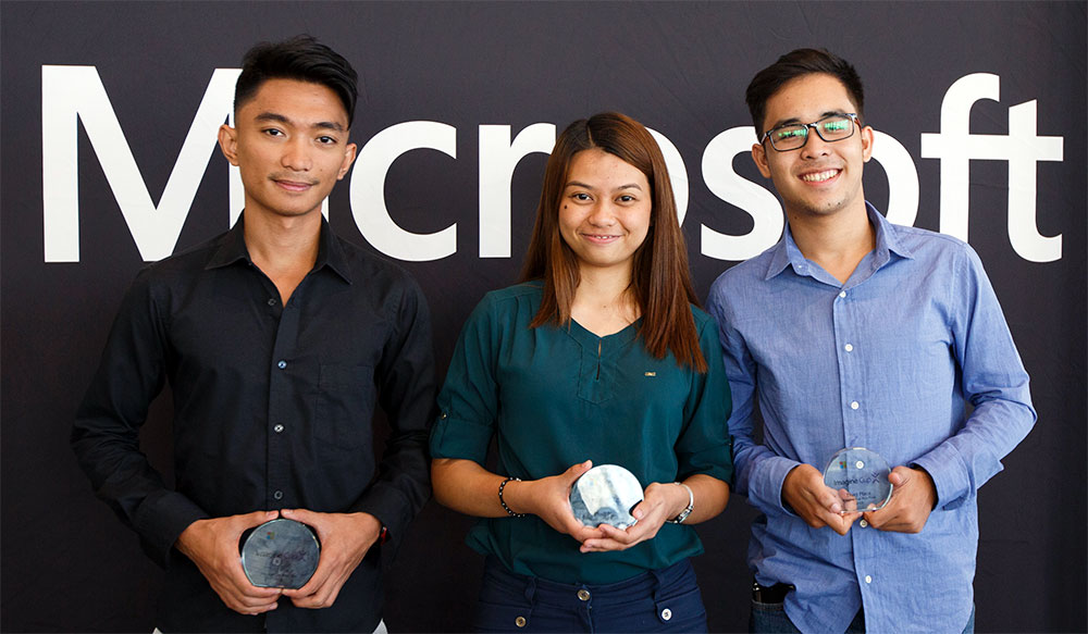 2019 Imagine Cup Asia winners - Team AidUSC