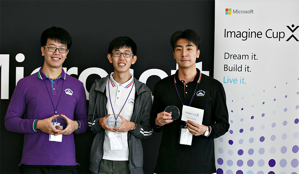 2019 Imagine Cup Asia winners - Team RailinNova