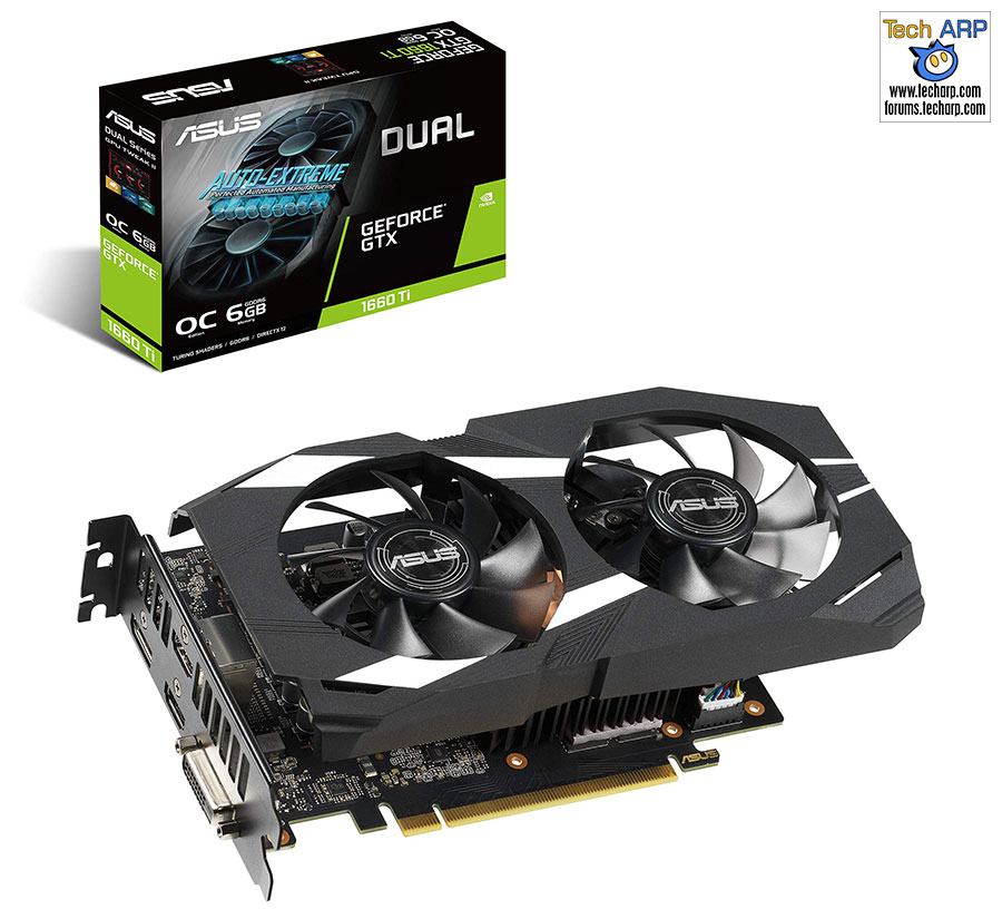 ASUS GeForce GTX 1660 Ti Dual Fan OC