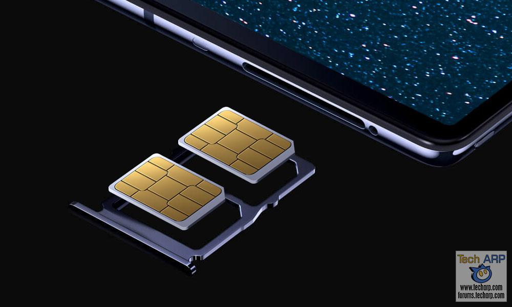 HUAWEI Mate X hybrid SIM
