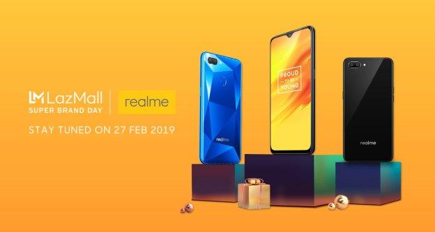 Realme Deals @ Lazada Super Brand Day Revealed!