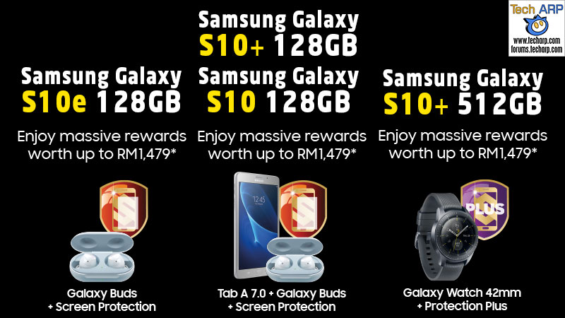 Samsung Galaxy S10 Malaysia Pre-Order Deals summary