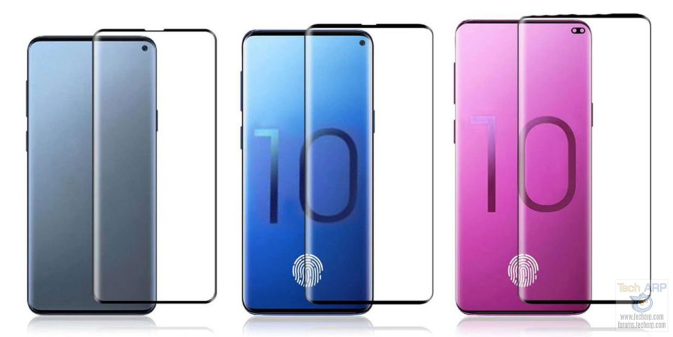 Samsung Galaxy S10 design leaked
