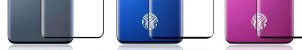 Samsung Galaxy S10 leaked fingerprint sensors