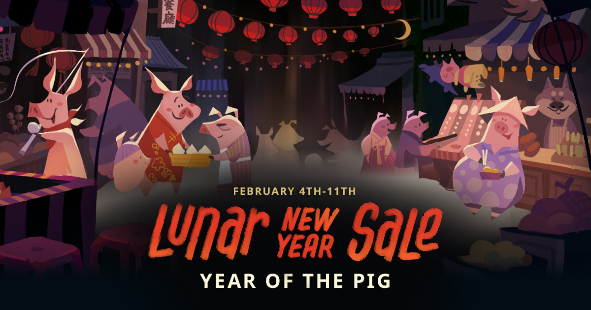 The 2019 Steam Lunar New Year Sale Examined! | Tech ARP