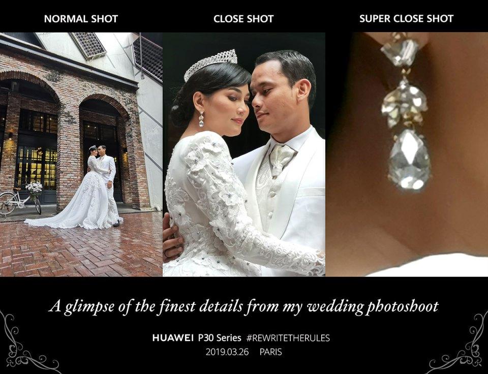 Fasha Sandha and Aidil Aziz Wedding Photo