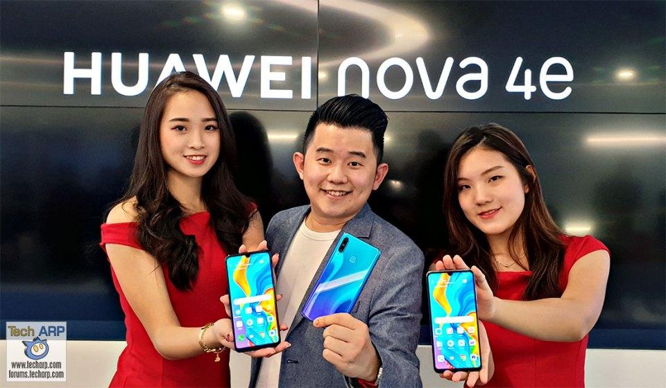 The HUAWEI nova 4e with 32 MP Selfie Camera Revealed!