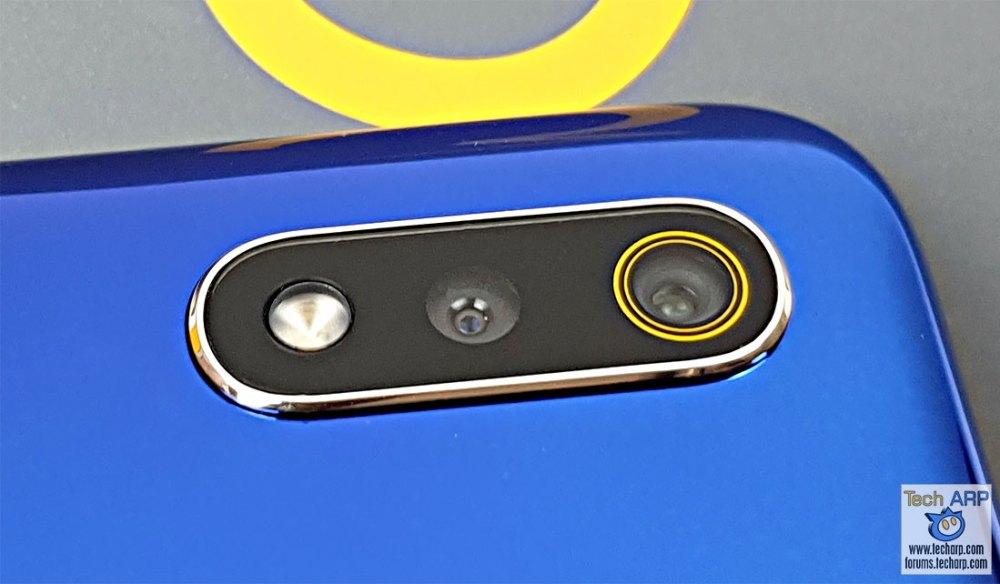 Realme 3 rear cameras
