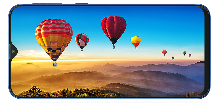 Samsung Galaxy M20 Infinity-V display
