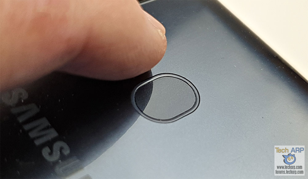 Samsung Galaxy M20 fingerprint sensor