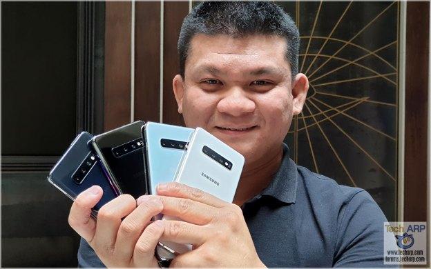 Samsung Galaxy S10 Colour + Ceramic Model Comparisons!