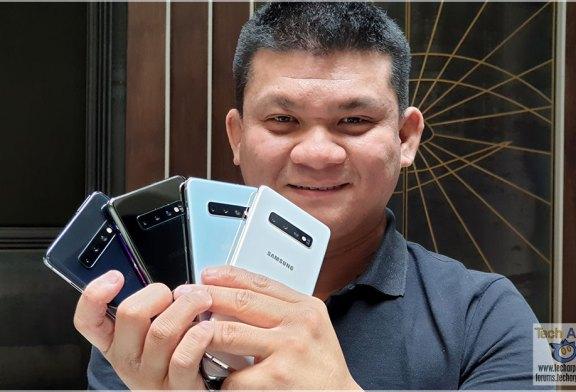 Samsung Galaxy S10 Colour + Ceramic Back Comparison 2.0