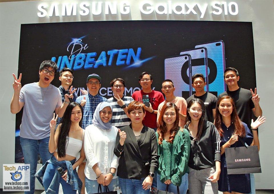 Samsung Galaxy S10 space contest winners
