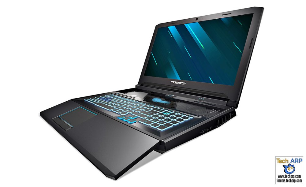 The 2019 Predator Helios 700 Adds HyperDrift Keyboard!