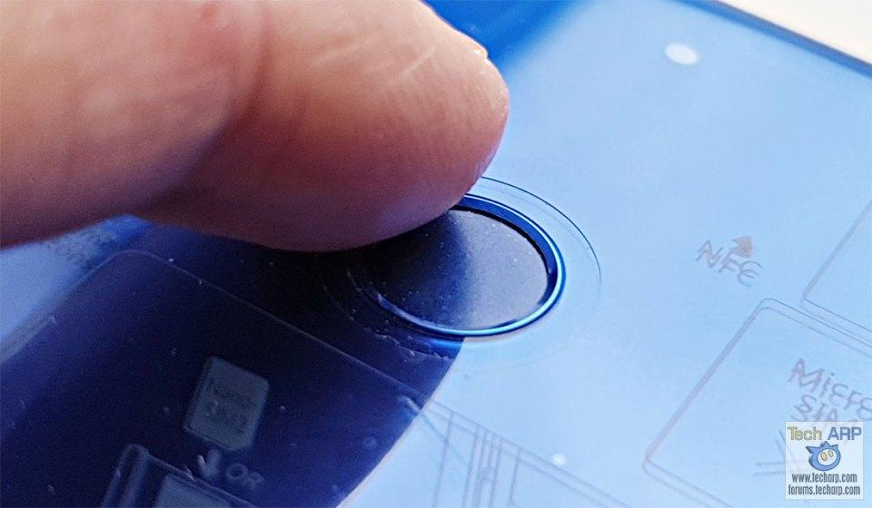 HONOR 20 Lite fingerprint sensor