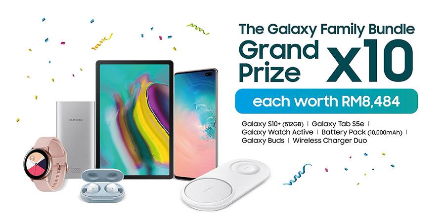 2019 Samsung Raya Sale prizes