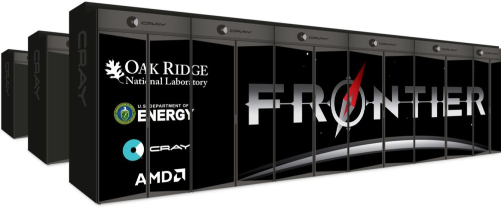 Frontier Supercomputer by AMD and Cray