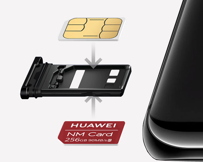 HUAWEI NM card tray design