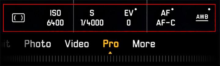 HUAWEI P30 Pro Mode metering