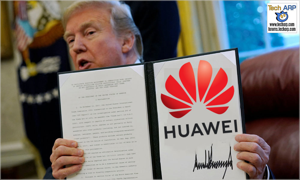 The HUAWEI Trump Ban - Everything You Need To Know!