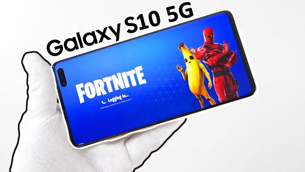 Fornite Gaming On 5G