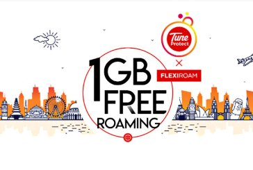 Buy Tune Protect Travel, Get 1GB Flexiroam Data Roaming!
