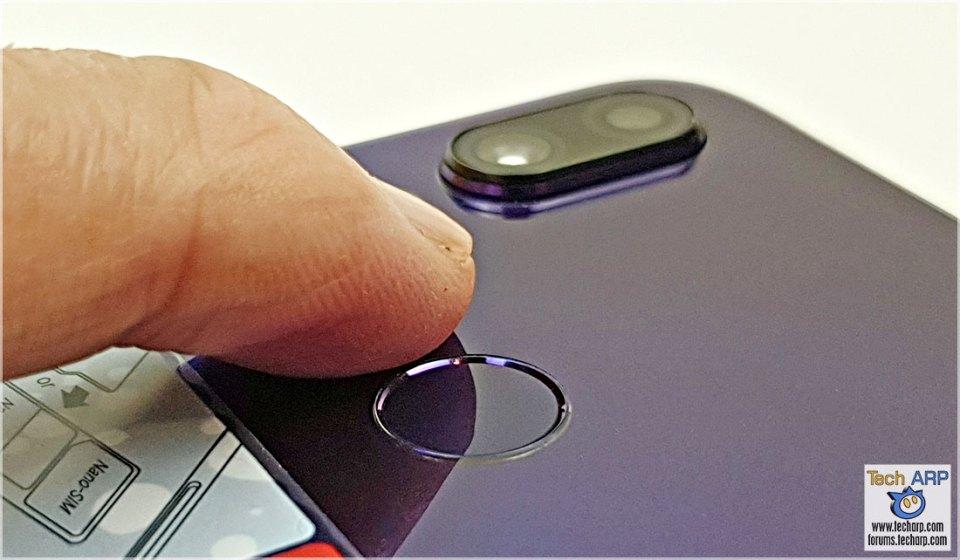 Xiaomi Redmi Note 7 fingerprint sensor