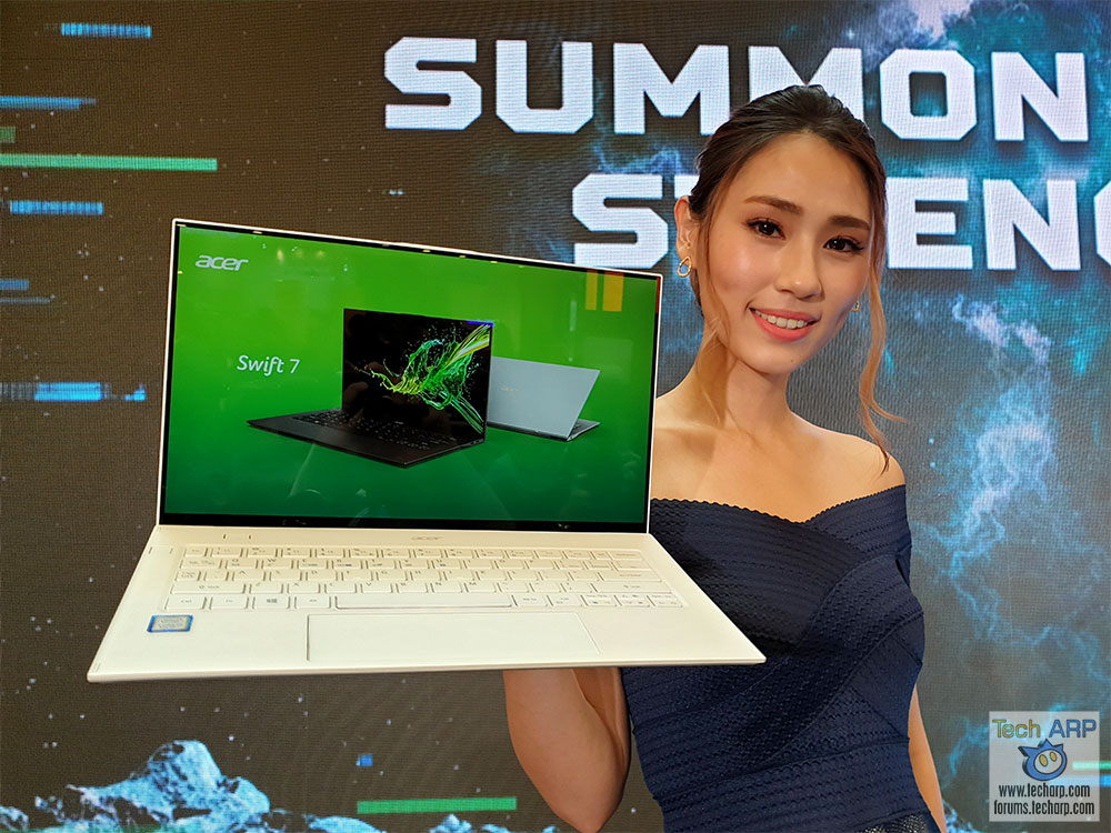 The 2019 Acer Swift 7 Ultra-Light Laptop Revealed!