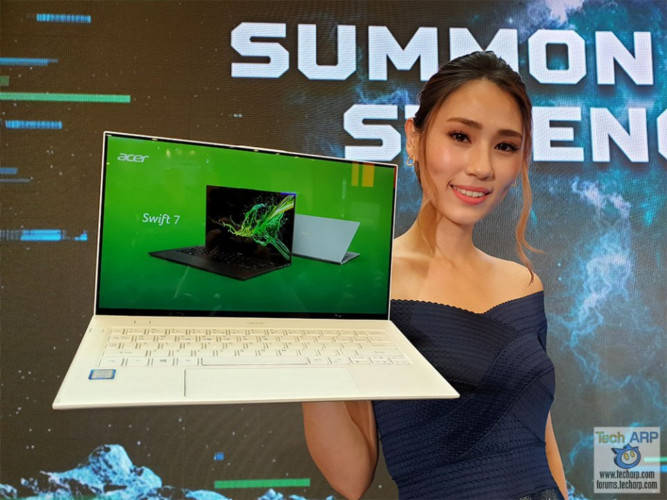 The 2019 Acer Swift 7 Ultra-Light Laptop Revealed!