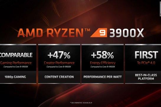 3rd Gen Ryzen presentation slide 14