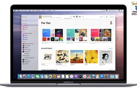 Apple Music for macOS Catalina