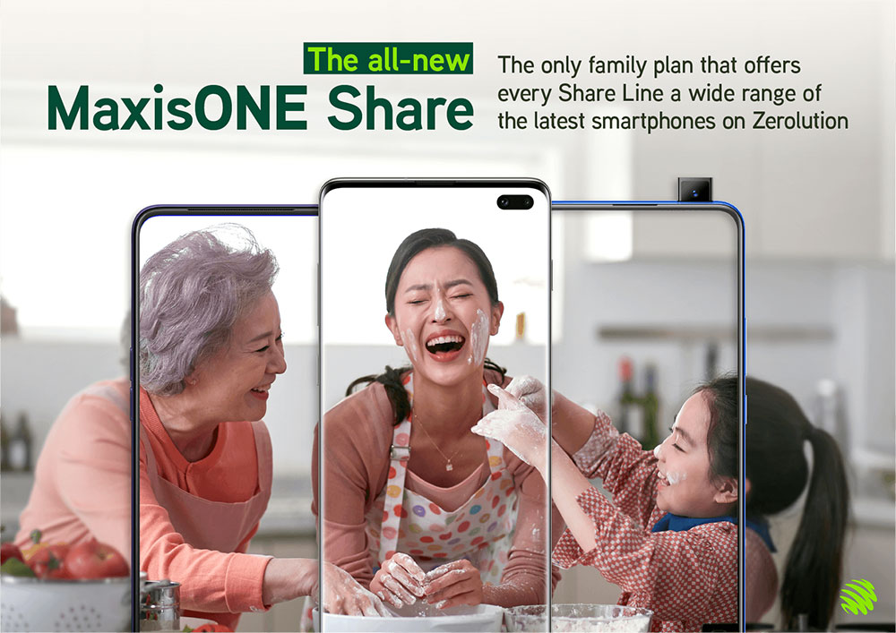 MaxisONE Share Plan Improved With Zerolution + More Data!