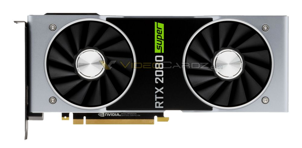 NVIDIA GeForce RTX 2080 SUPER leaked picture