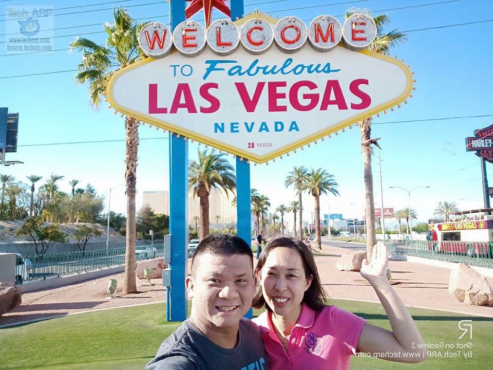 Realme 3 Las Vegas selfies 01