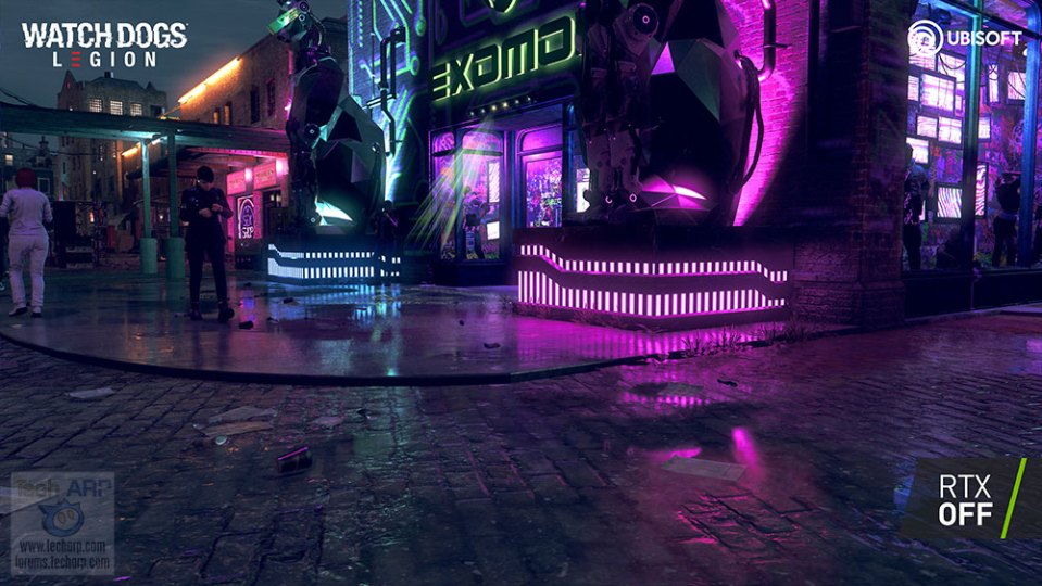 Watch Dogs : Legion Ray Tracing Comparison