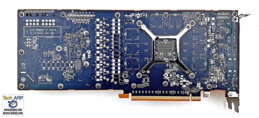 AMD Radeon RX 5700 back