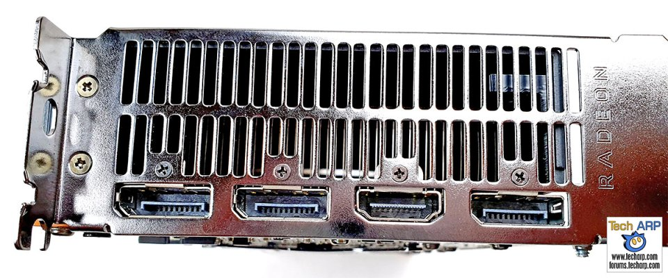 AMD Radeon RX 5700 display ports