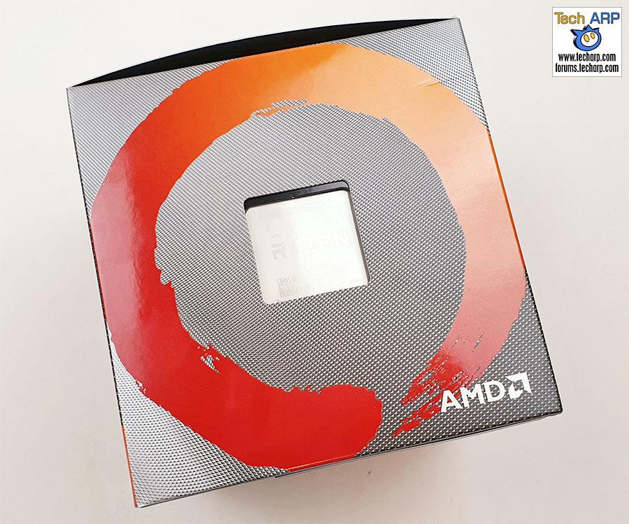 AMD Ryzen 7 3700X box