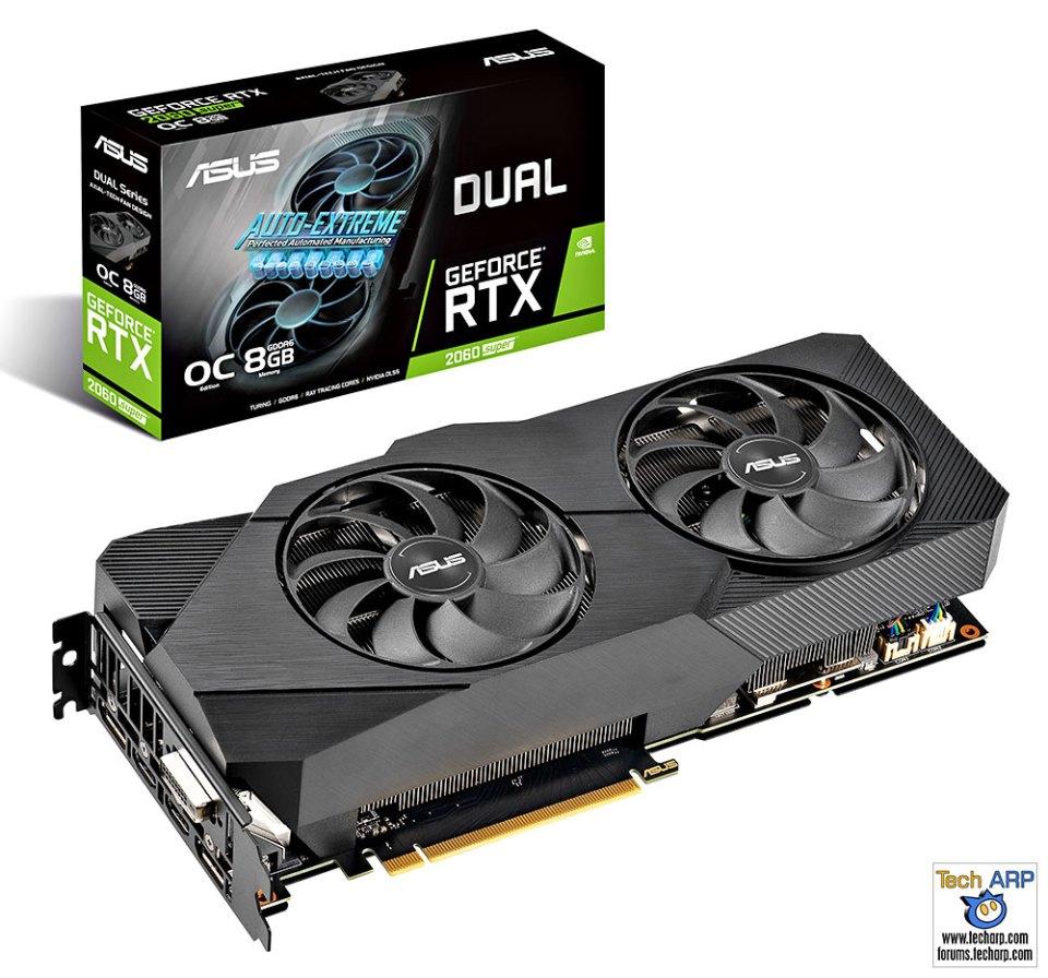 ASUS DUAL RTX 2060 Super EVO graphics card