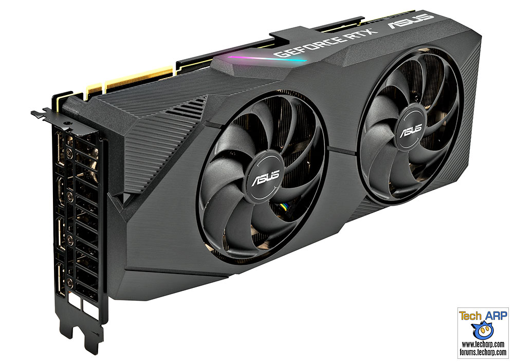 ASUS DUAL RTX 2080 Super EVO graphics card